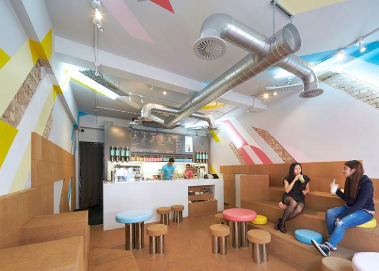 英國倫敦Biju珍珠奶茶店
