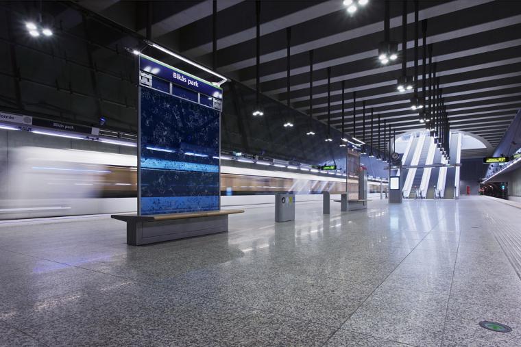 匈牙利M4地铁线Bikás公园站内部-匈牙利M4地铁线Bikás公园站第4张图片