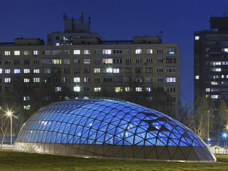 匈牙利M4地铁线Bikás公园站第1张图片