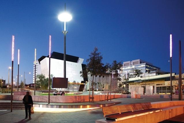 澳大利亚第丹顿农街区改建外部夜-澳大利亚第丹顿农街区改建第6张图片