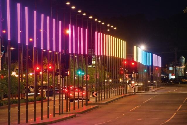 澳大利亚第丹顿农街区改建外部夜-澳大利亚第丹顿农街区改建第7张图片