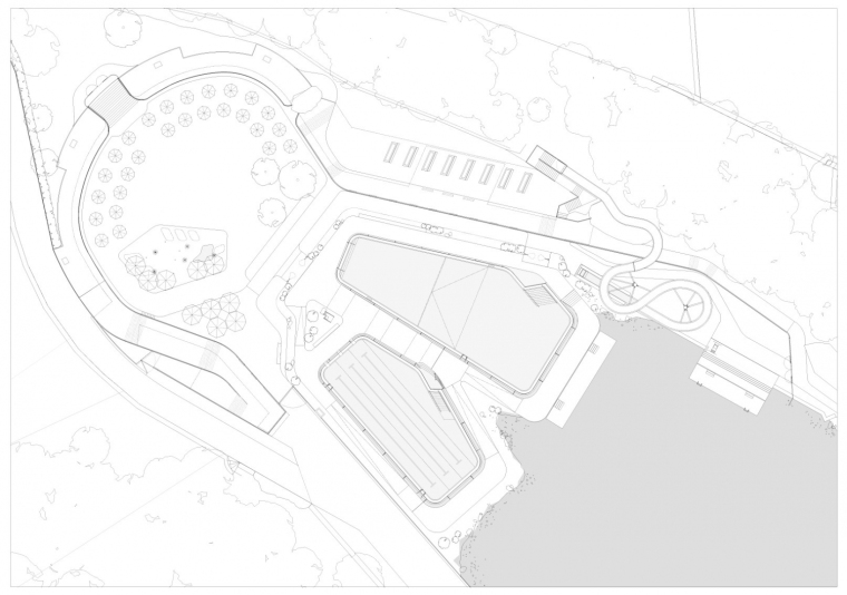 瑞士Géronde浴场翻新平面图-瑞士Géronde浴场翻新第19张图片