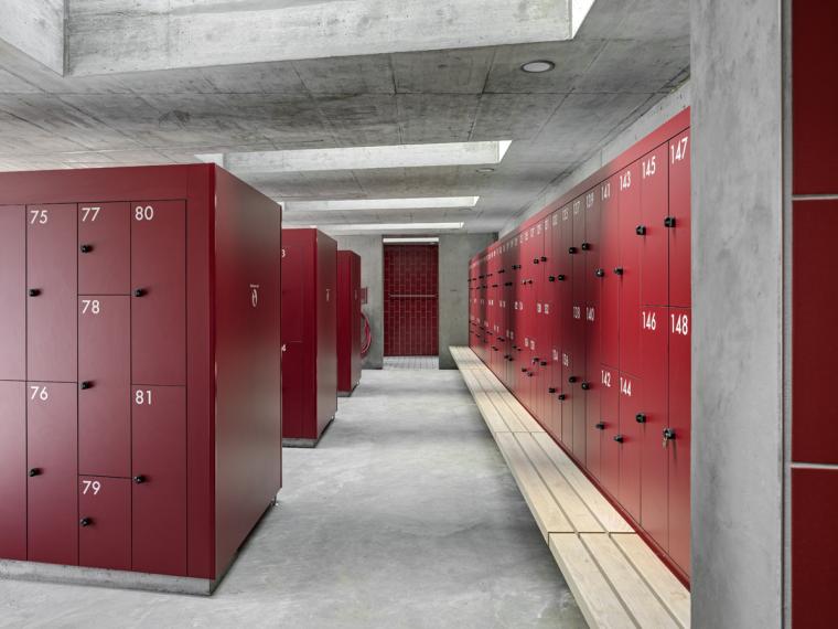 瑞士Géronde浴场翻新内部实景图-瑞士Géronde浴场翻新第17张图片