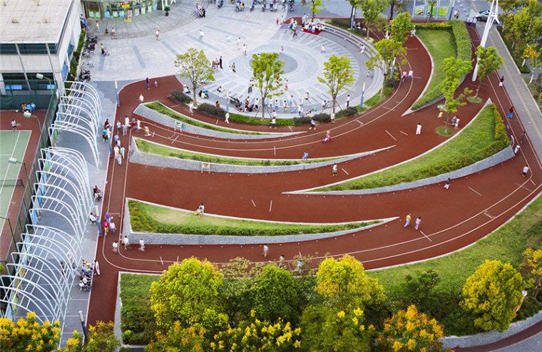 张庙科普健身公园外部局部实景图-张庙科普健身公园第4张图片
