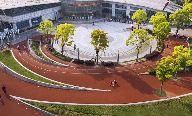 张庙科普健身公园外部实景图-张庙科普健身公园第3张图片