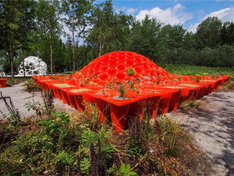 加拿大盛大梅蒂斯国际花园节第1张图片