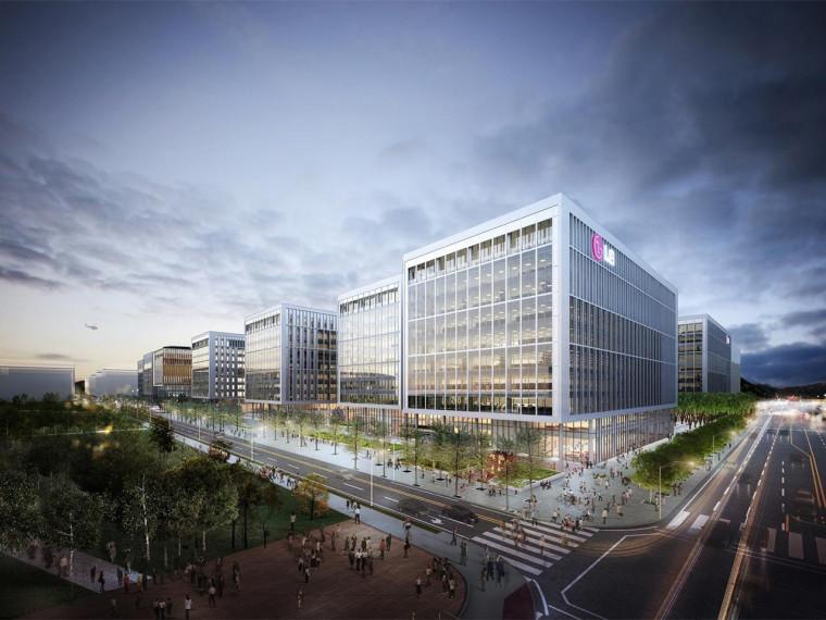 韩国首尔LG科技园设计方案