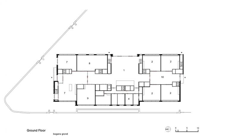 Waalsdrop学校新教学楼平面图-Waalsdrop学校新教学楼第11张图片