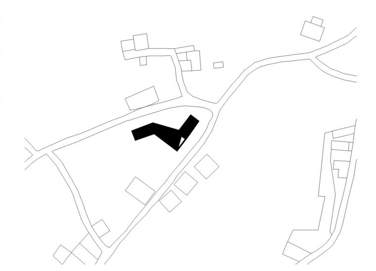 葡萄牙托马尔山顶别墅平面图-葡萄牙托马尔山顶别墅第17张图片