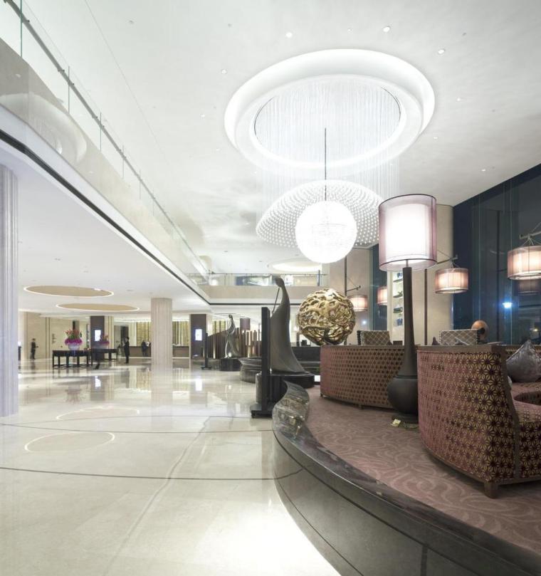 浙江宁波泛太平洋大酒店内部大厅-浙江宁波泛太平洋大酒店第18张图片