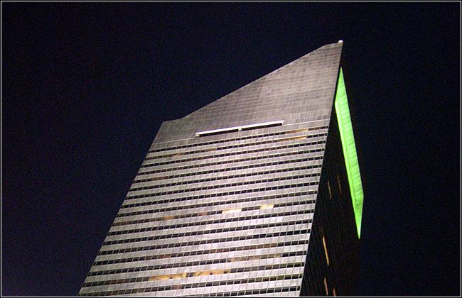 美国花旗中心外部夜景实景图-美国花旗中心第5张图片