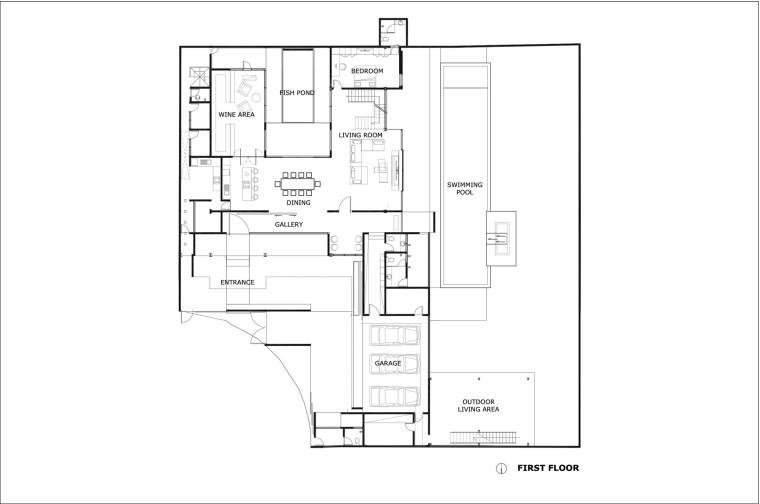 印尼RumahBidang住宅-印尼Rumah Bidang住宅平面图-印尼Rumah Bidang住宅第11张图片