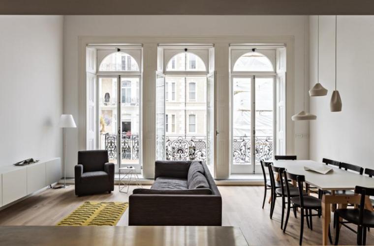英国伦敦市中心公寓室内房间实景-英国伦敦市中心公寓第3张图片