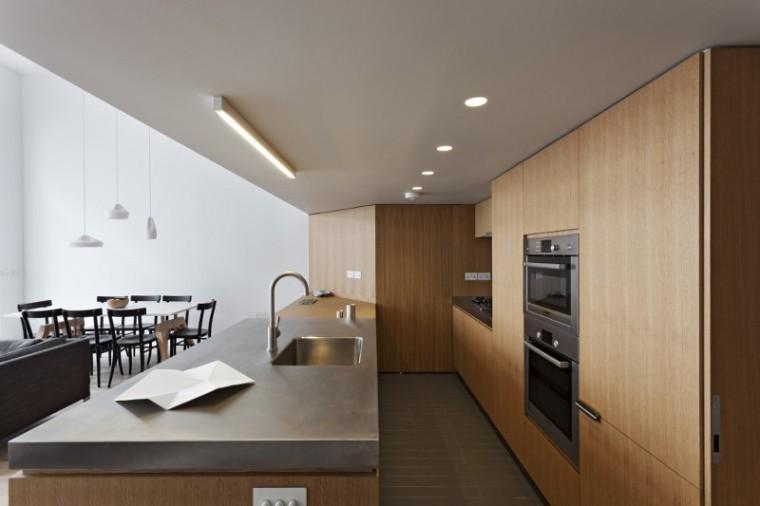 英国伦敦市中心公寓室内餐厅实景-英国伦敦市中心公寓第5张图片