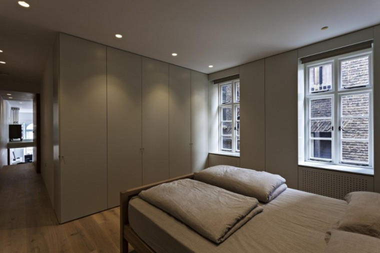 英国伦敦市中心公寓室内卧室实景-英国伦敦市中心公寓第6张图片