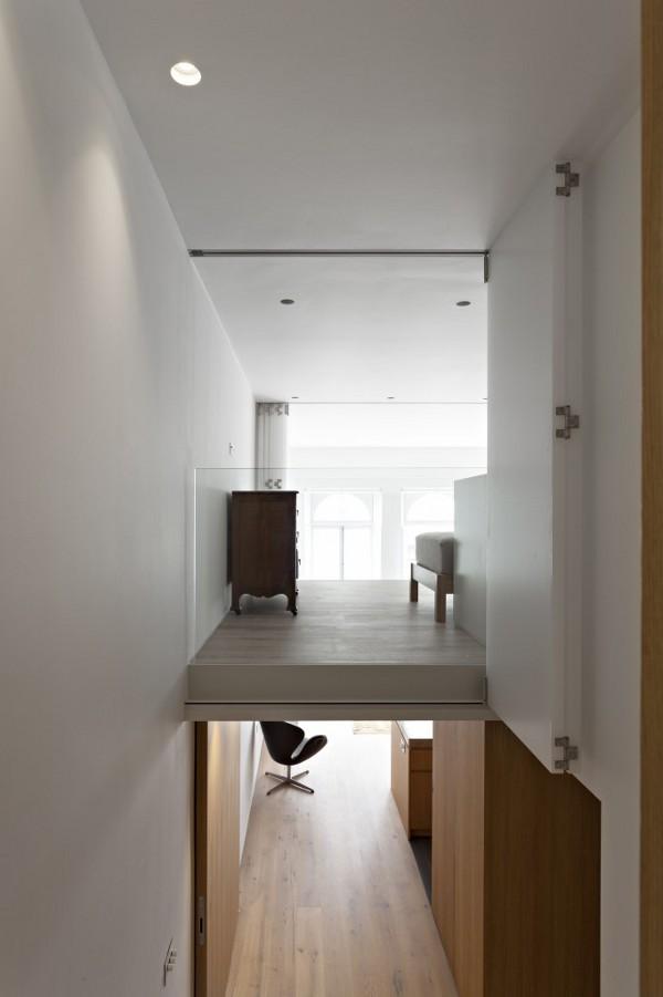 英国伦敦市中心公寓室内局部实景-英国伦敦市中心公寓第9张图片