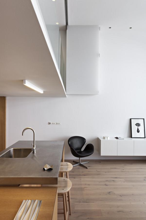 英国伦敦市中心公寓室内局部实景-英国伦敦市中心公寓第7张图片