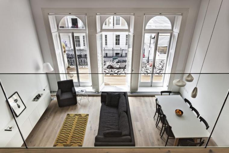 英国伦敦市中心公寓室内房间实景-英国伦敦市中心公寓第2张图片