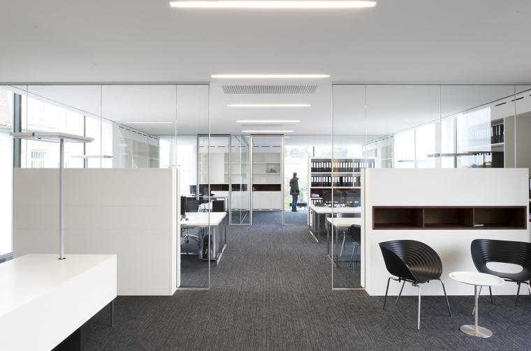 奥地利尼克办公楼内部办公区实景-奥地利尼克办公楼第9张图片