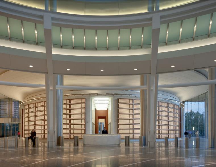 美国戴文能源公司总部大楼内部局-美国戴文能源公司总部大楼第7张图片