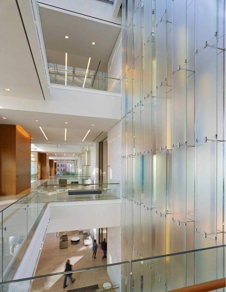美国戴文能源公司总部大楼内部局-美国戴文能源公司总部大楼第6张图片