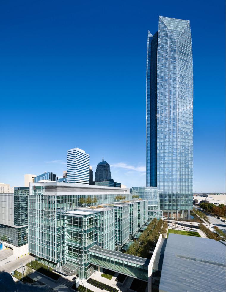美国戴文能源公司总部大楼外部实-美国戴文能源公司总部大楼第2张图片