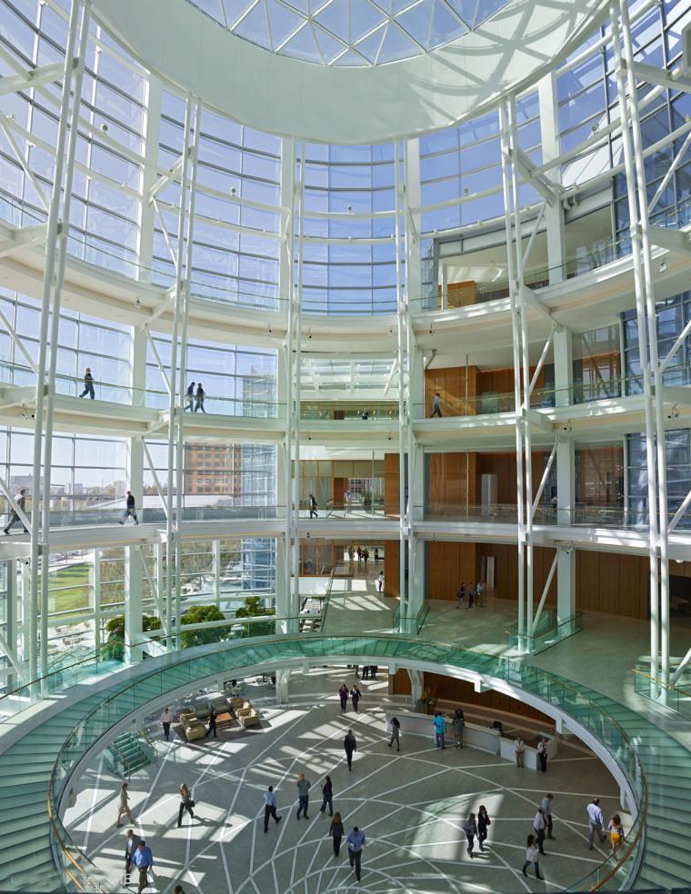 美国戴文能源公司总部大楼内部实-美国戴文能源公司总部大楼第9张图片