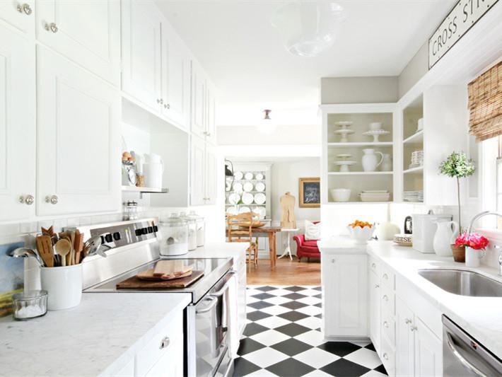 白色的梦幻厨房