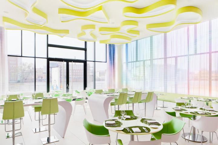 德国柏林的Nhow酒店室内局部实景-德国柏林的Nhow酒店第5张图片
