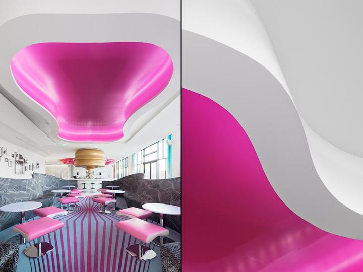 德国柏林的Nhow酒店室内局部实景-德国柏林的Nhow酒店第3张图片