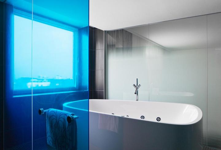 德国柏林的Nhow酒店室内浴室实景-德国柏林的Nhow酒店第11张图片