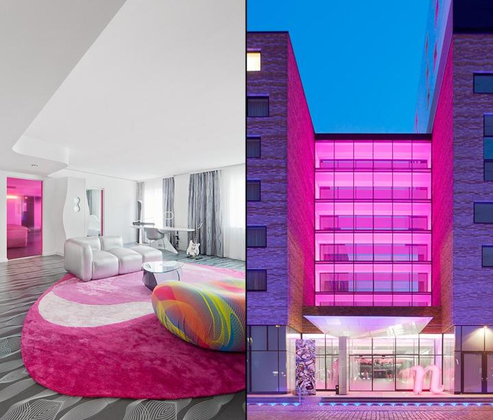德国柏林的Nhow酒店室内细节实景-德国柏林的Nhow酒店第18张图片