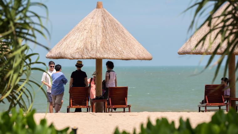 海南岛度假胜地项目外部局部实景-海南岛度假胜地项目第7张图片