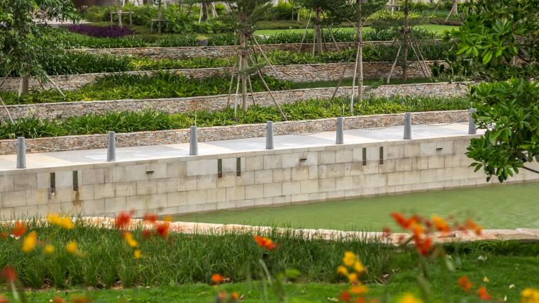 海南岛度假胜地项目外部道路实景-海南岛度假胜地项目第4张图片