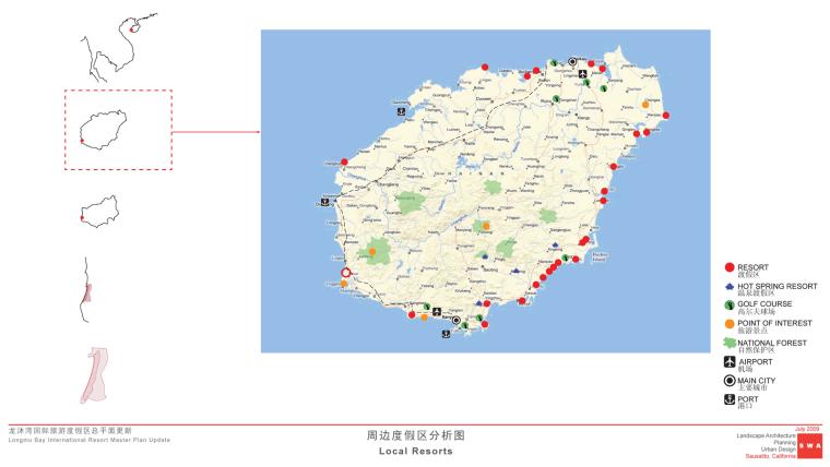 海南岛度假胜地项目平面图-海南岛度假胜地项目第17张图片
