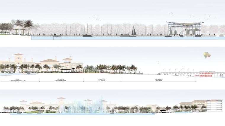 海南岛度假胜地项目立面图-海南岛度假胜地项目第18张图片