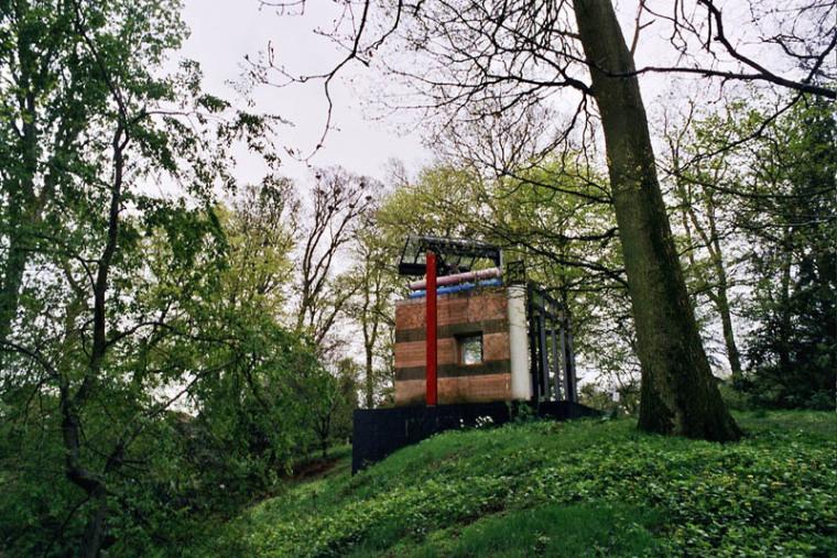英国苏格兰宇宙思考花园外部实景-英国苏格兰宇宙思考花园第3张图片