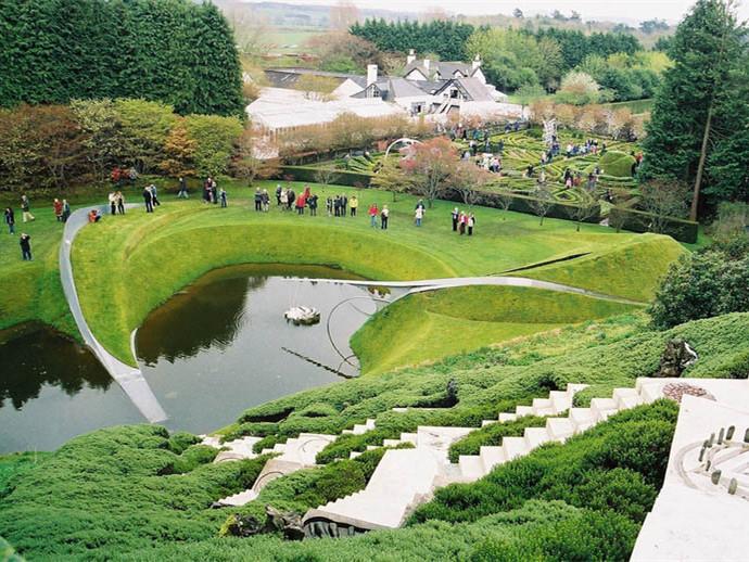 英国苏格兰宇宙思考花园第1张图片