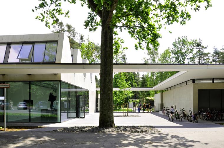 德国纽伦堡艺术学院扩建外部局部-德国纽伦堡艺术学院扩建第4张图片