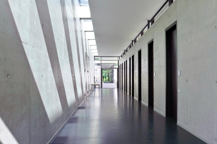 德国纽伦堡艺术学院扩建内部过道-德国纽伦堡艺术学院扩建第8张图片