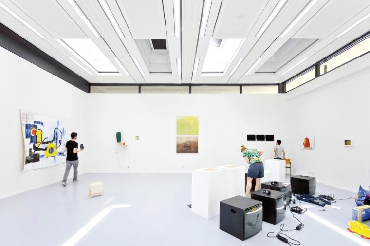 德国纽伦堡艺术学院扩建内部房间-德国纽伦堡艺术学院扩建第9张图片