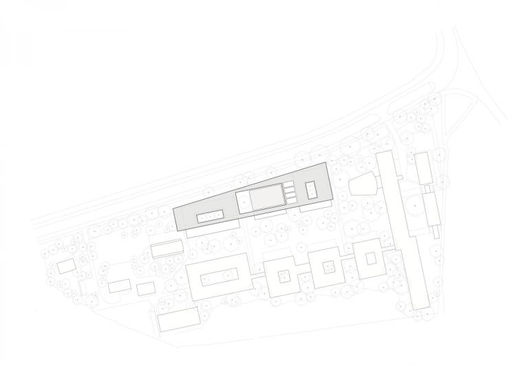 德国纽伦堡艺术学院扩建平面图-德国纽伦堡艺术学院扩建第11张图片