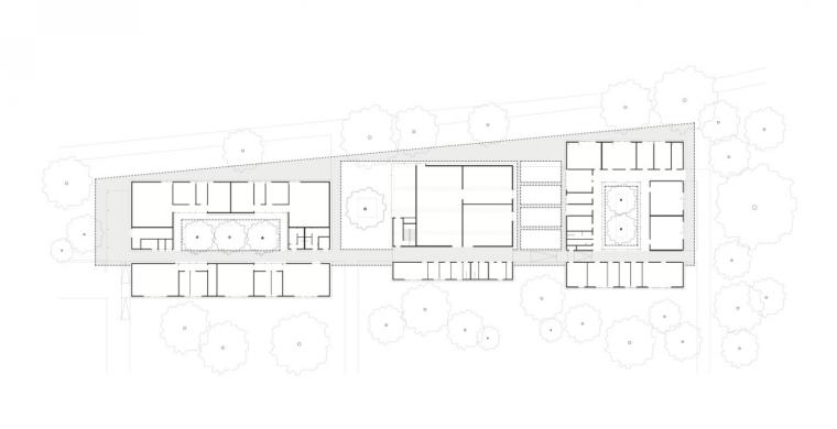 德国纽伦堡艺术学院扩建平面图-德国纽伦堡艺术学院扩建第12张图片