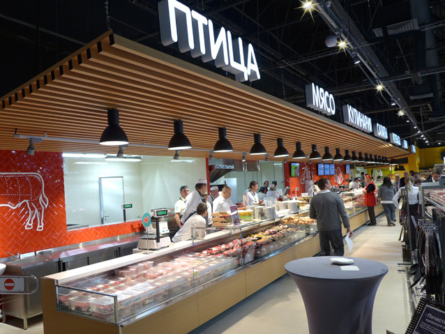 俄罗斯Perekrestok旗舰超市