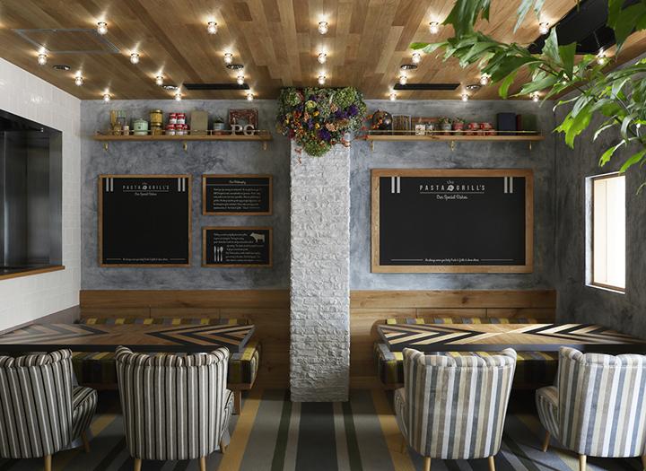 日本大阪意大利面和烧烤店室内局-日本大阪意大利面和烧烤店第6张图片
