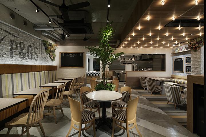 日本大阪意大利面和烧烤店室内就-日本大阪意大利面和烧烤店第2张图片