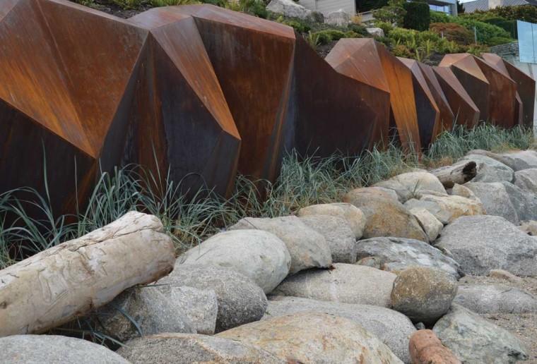 加拿大钢铁海岸线景观外部侧面实-加拿大钢铁海岸线景观第4张图片