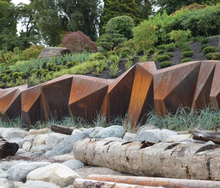 加拿大钢铁海岸线景观外部侧面实-加拿大钢铁海岸线景观第3张图片