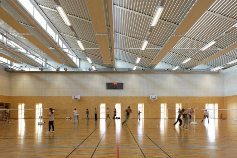法国埃克托柏辽兹体育中心内部实-法国埃克托柏辽兹体育中心第8张图片