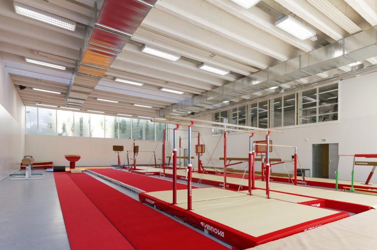 法国埃克托柏辽兹体育中心内部实-法国埃克托柏辽兹体育中心第10张图片